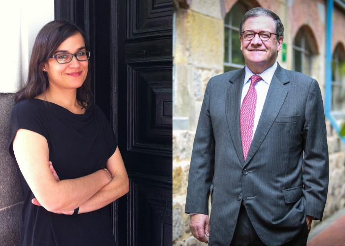 El rector de los Andes vs. Carolina Sanín