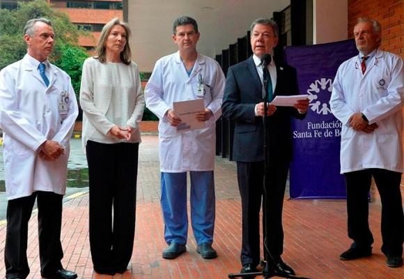 """""""Esto nos tomó por sorpresa a mí y a mi familia"""", inesperado viaje de Santos a EE.UU. para tratamiento médico"""