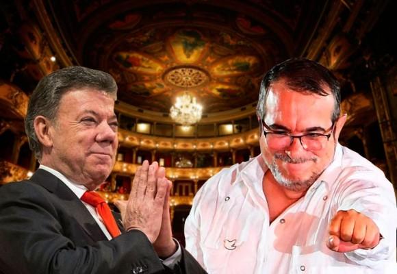 Firma del nuevo Acuerdo de paz será el jueves 24 de nov. a las 11 a.m en el Teatro Colón de Bogotá