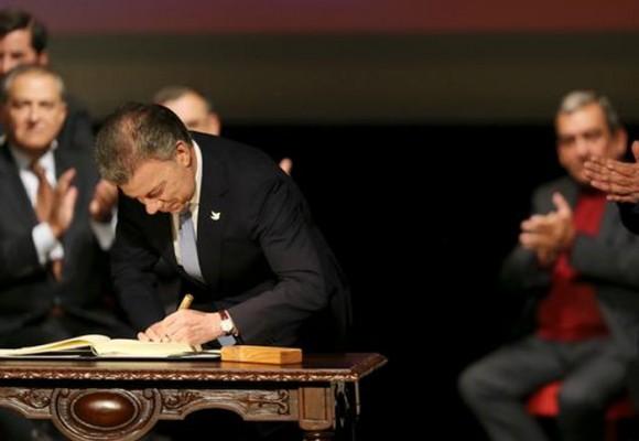 El acuerdo de paz:  fin a 50 años de conflicto