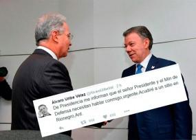 Reunión Santos-Uribe en Rionegro tendría un propósito: afinar el Acuerdo de La Habana