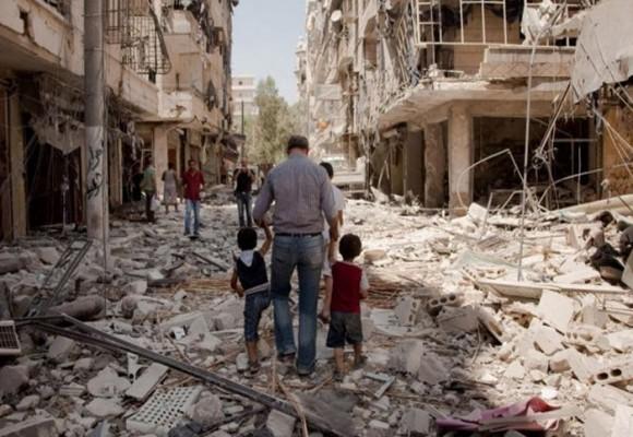 Alepo: guerra, destruccion, hambruna y muerte