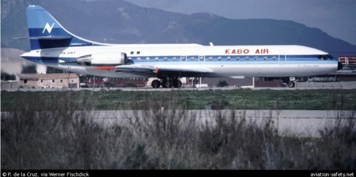 Este avión es el original propiedad de Kabo Air vendido a Aerosucre en julio de 1987