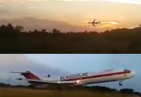 """""""Se cayó ese avión Dios mío"""": nuevo video del accidente del avión de Aerosucre en el Vichada"""