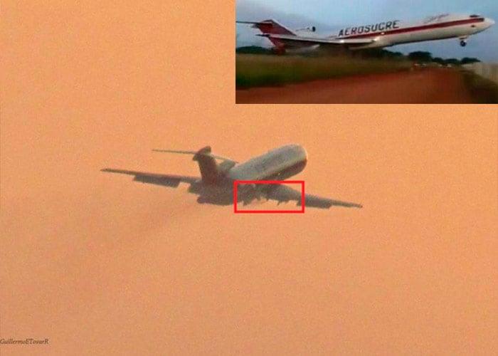 La cadena de sucesos que habrían llevado al accidente del avión de Aerosucre