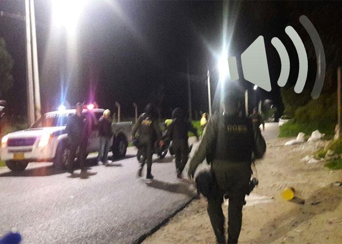 """""""Al cuerpo del Policía le dejaron un explosivo"""", impactante audio del atentado en Bogotá"""