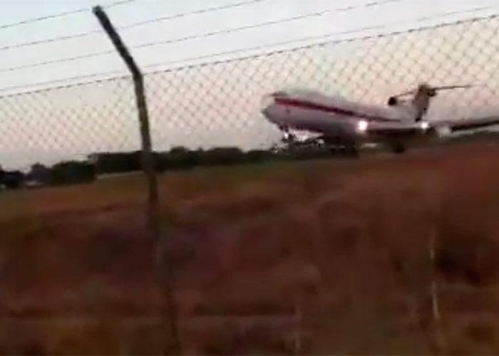En video: Así fue el despegue del avión accidentado de Aerosucre