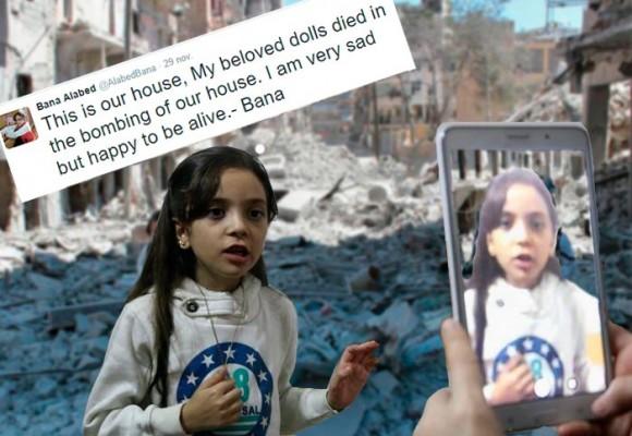 """""""Esta es mi casa, mis muñecas murieron en el bombardeo"""", los trinos con que Bana relata su agonía en Siria"""
