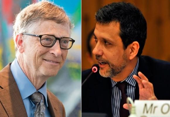 El colombiano que no le da miedo hablarle a Bill Gates