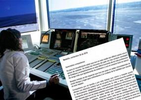 Desesperada carta de la controladora de Rionegro: está amenazada por el accidente de LaMía