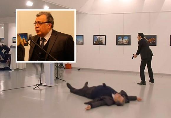 En video quedó registrado el asesinato del embajador ruso en Turquía