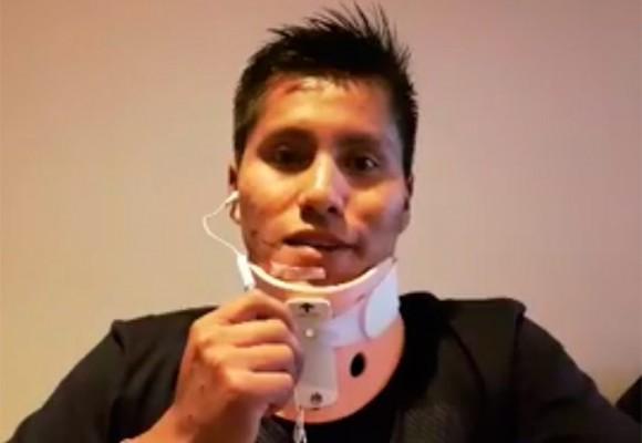 Video: habla por primera vez el técnico superviviente del avión del Chapecoense