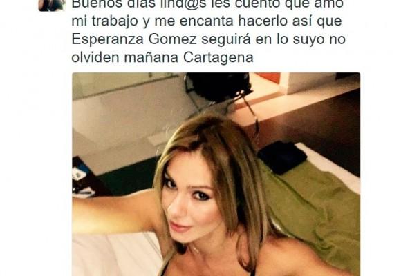 """""""Amo mi trabajo"""": Esperanza Gómez responde sobre su video en Yopal"""