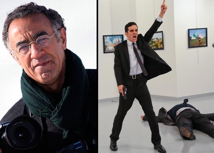 """""""Estoy aquí. Aunque me disparen…soy un periodista, haciendo su trabajo"""""""