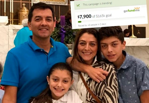 Colecta de amigos para apoyar a Luis Alfonso Hoyos