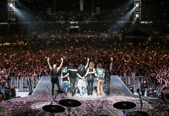La noche de Guns N' Roses en Medellín