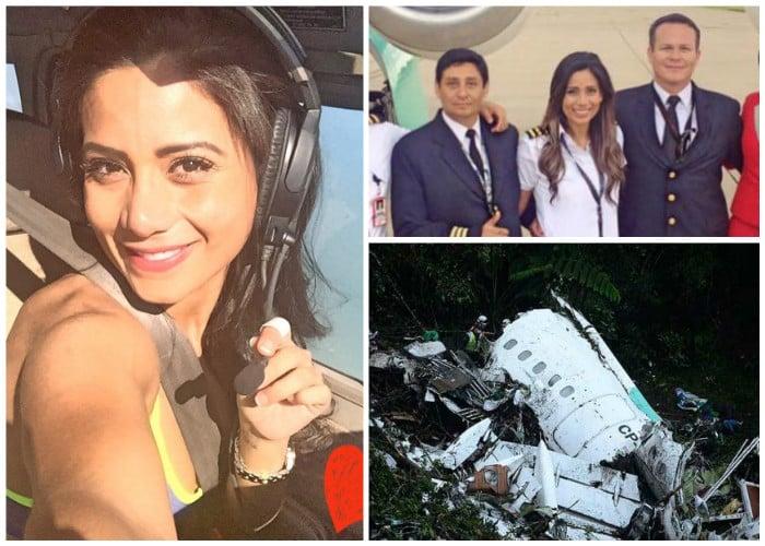 Sisy, la modelo que lo dejó todo por ser piloto y murió en su primer vuelo con el Chapecoense