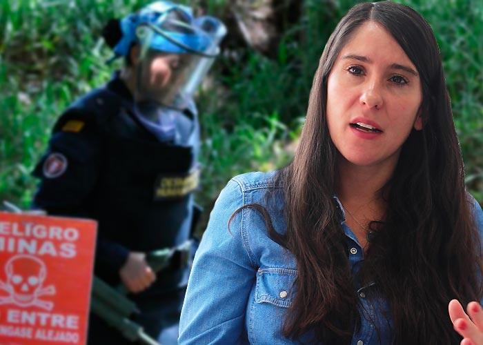 ¿Qué hace una noruega ayudando a desminar a Colombia?