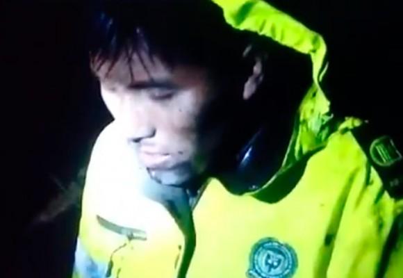 """VIDEO: """"¿Dónde está mi tripulación?"""", así fue el rescate del técnico del avión del Chapecoense"""