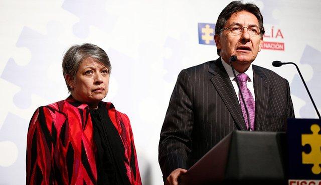 Desde su posesión el Fiscal Nestor Humberto Martínez se comprometió en la lucha contra la corrupción