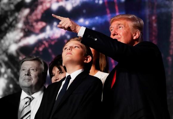 Barron, el misterioso hijo de Donald Trump