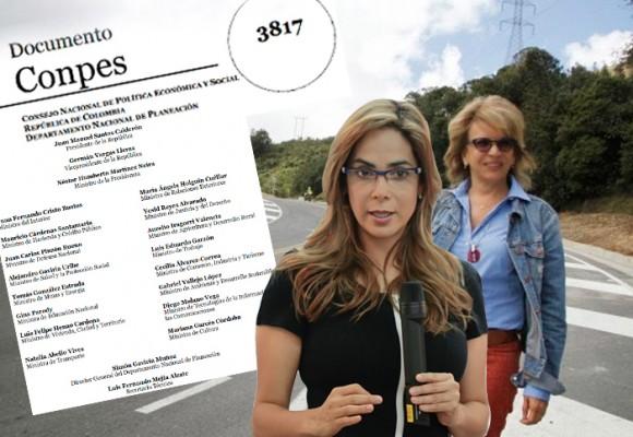 El documento firmado por las dos ministras que aprobó la vía Ocaña-Gamarra