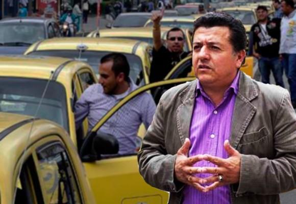 Hugo Ospina, el taxista que lidera la guerra contra Uber