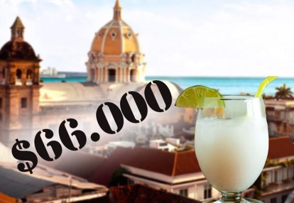 """""""En Cartagena me vendieron tres limonadas de coco por 66.000"""""""