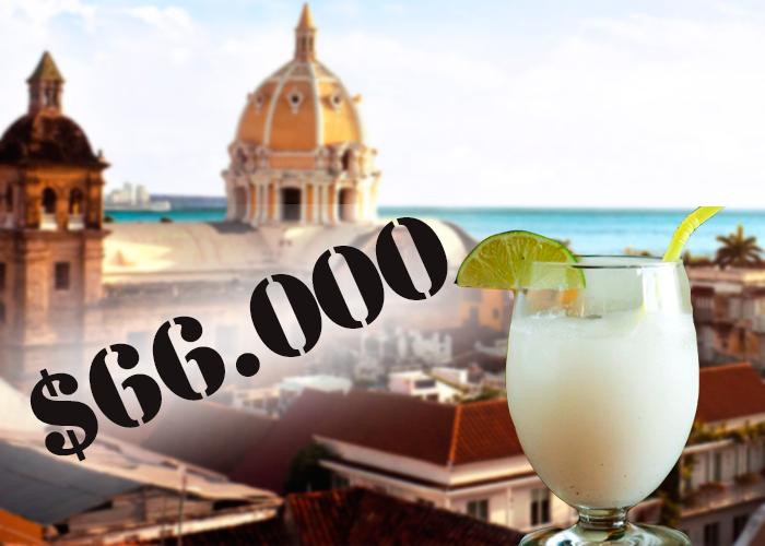 """""""En Cartagena me vendieron tres limonadas de coco por 66.000″"""