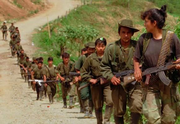 La última marcha de las FARC como movimiento insurgente