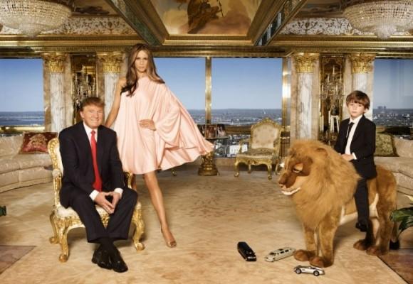 La Torre Trump, el icono del millonario en Nueva York donde permanecerá su esposa