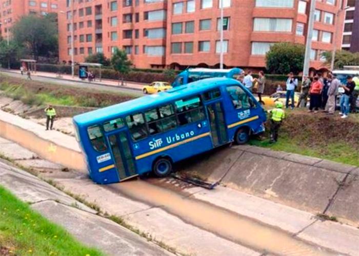 9.788 accidentes lleva el SITP en Bogotá durante su funcionamiento