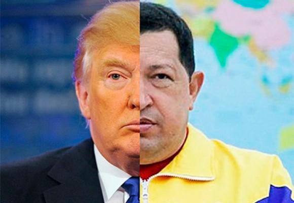 Trump y Chávez: un odio común a la prensa