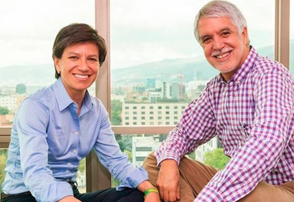 Cuando Claudia López y Enrique Peñalosa eran los mejores amigos