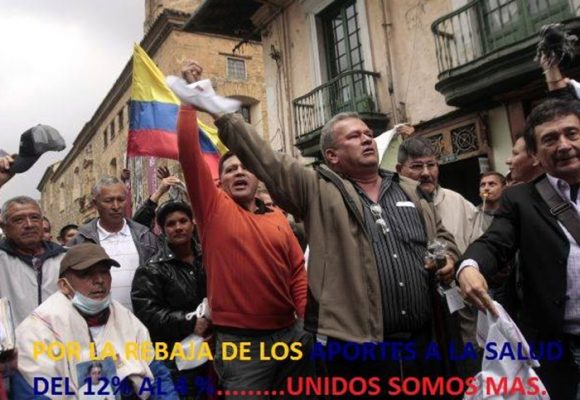 Carta de los pensionados al presidente Santos