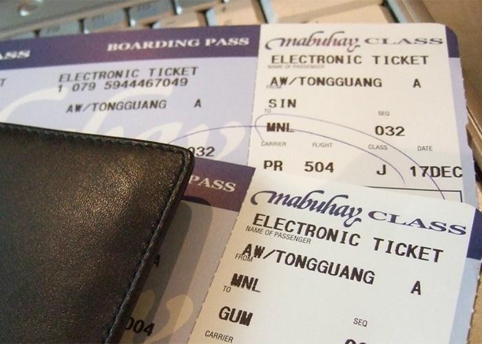 Si compra tiquetes por Internet, asegúrese de viajar