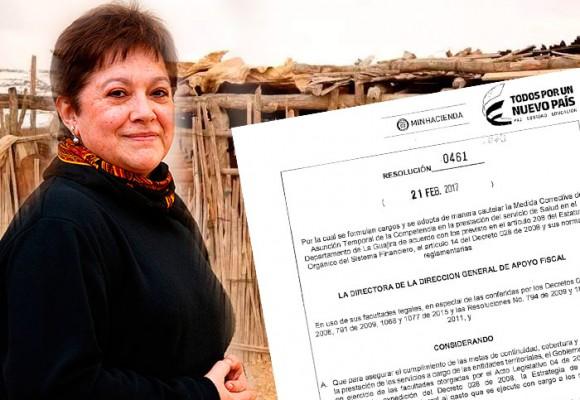 La guardiana de los recursos de La Guajira