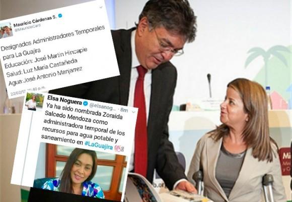Rapiña política por los $769 000 millones de recursos para La Guajira: Elsa Noguera se la ganó a Cárdenas