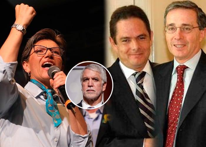 La íntima relación de Claudia López con su maestro, que Uribe y Vargas Lleras terminaron rompiendo