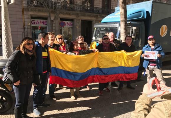 La denuncia de los colombianos en el exterior