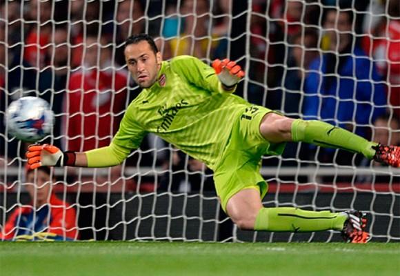 David Ospina: mucho arquero para el Arsenal