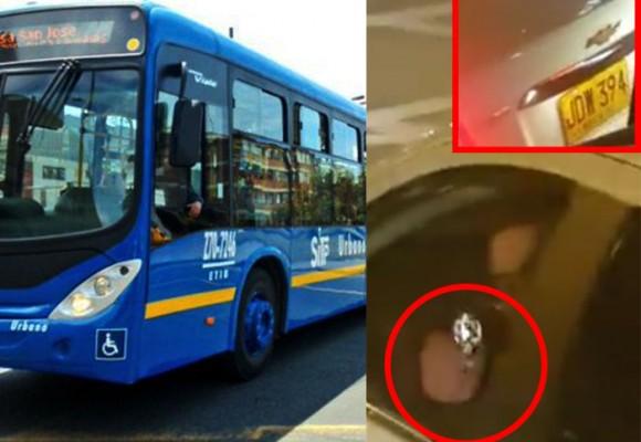 VIDEO: Un hombre le disparó con arma a conductor del SITP y pasajeros