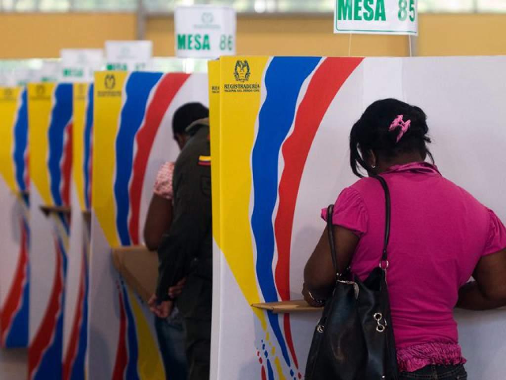 Resultado de imagen para elecciones en colombia