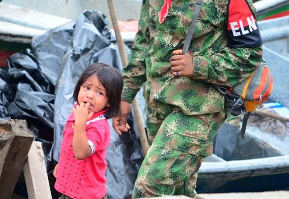 El pequeño Elmer y su vida en el Frente de Guerra Occidental del ELN en Chocó
