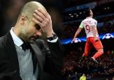 Video: La piedra que le sacó Falcao a Guardiola