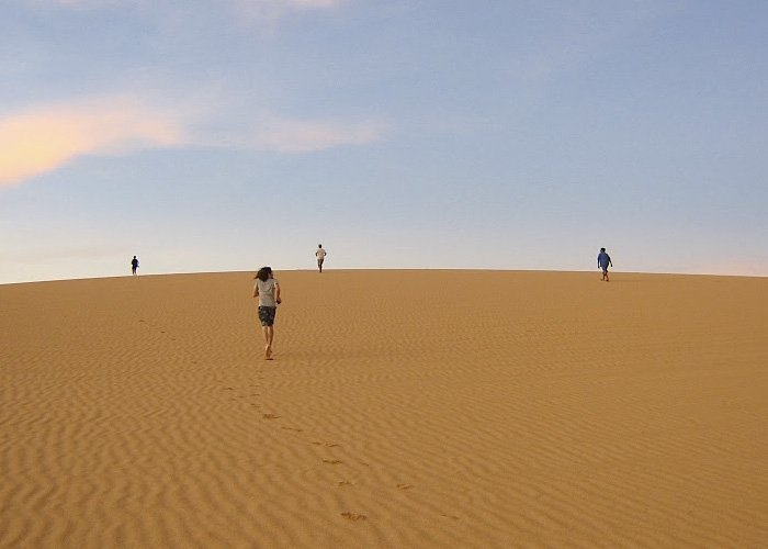 La alta Guajira, desierto de paisajes duros llenos de belleza