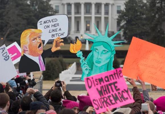 ¡Vivan las marchas de las mujeres contra Trump!