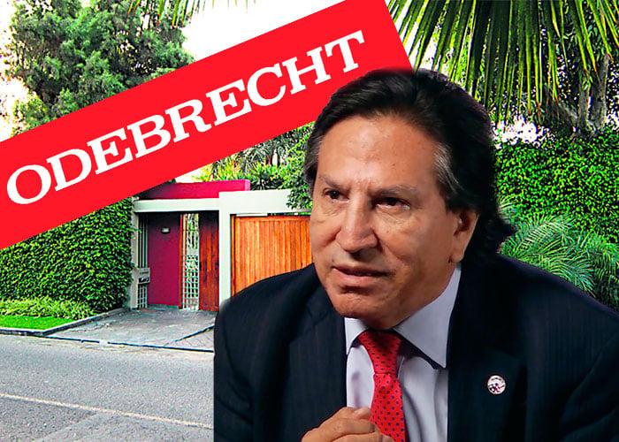 Las mansiones que Alejandro Toledo compró con el soborno de Odebrecht