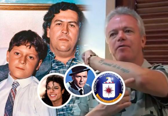 Las mentiras del hijo de Pablo Escobar de las que se ríe Popeye