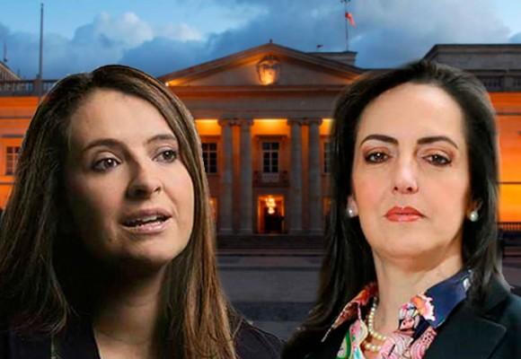 Paloma Valencia y María Fernanda Cabal, en la pelea por la presidencia de Colombia
